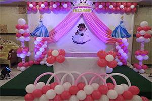 Baby Cinderella Theme Decoration -