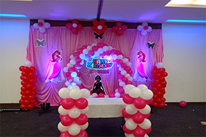 Baby Circle Theme Decoration -