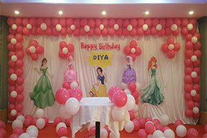 Basic Princess Backdrop Theme Decoration -