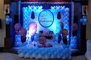 Boss Baby Theme Decoration -