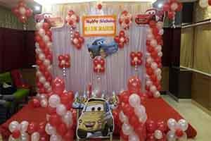 Basic Car Theme Decoration -