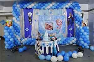 Frozen Basic Cutout Theme Decoration -