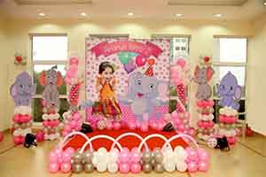 Jungle Elephant Theme Decoration -