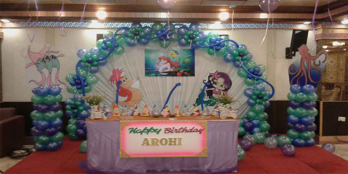 Little Mermaid Theme Decoration -