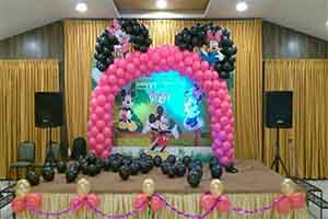 Mickey Arch Customized Printed Theme Decoration -
