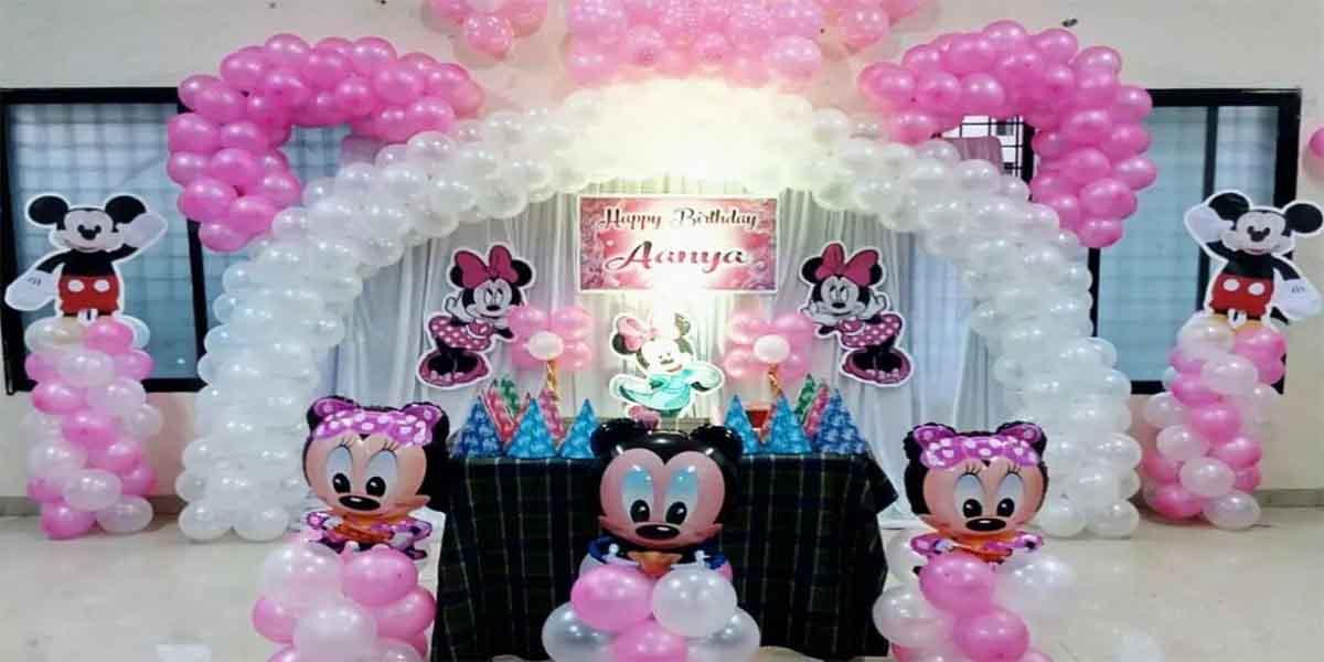 Minnie Arch Theme Decoration -