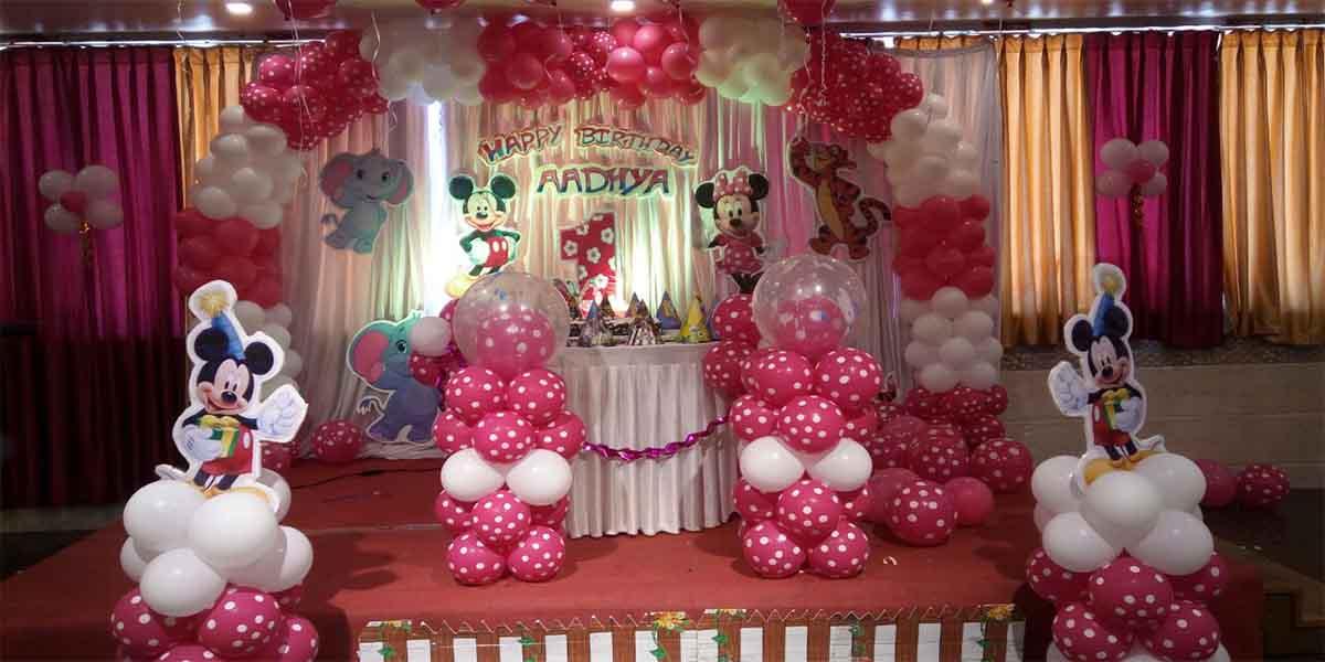 Polka Disney Mickey Theme Decoration -
