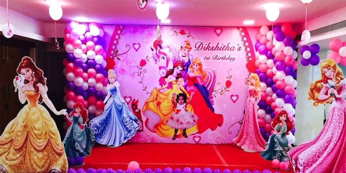 Princess High End Theme Decoration -