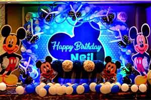 Printed Disney Theme Decoration -