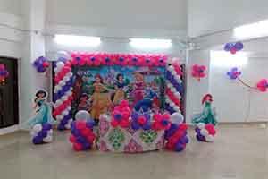 Printed Princess Family Theme Decoration -