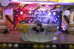 Twinkle Little Star Theme Decoration -