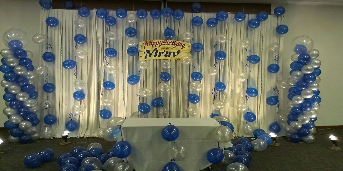 Unique Balloon Theme Decoration -