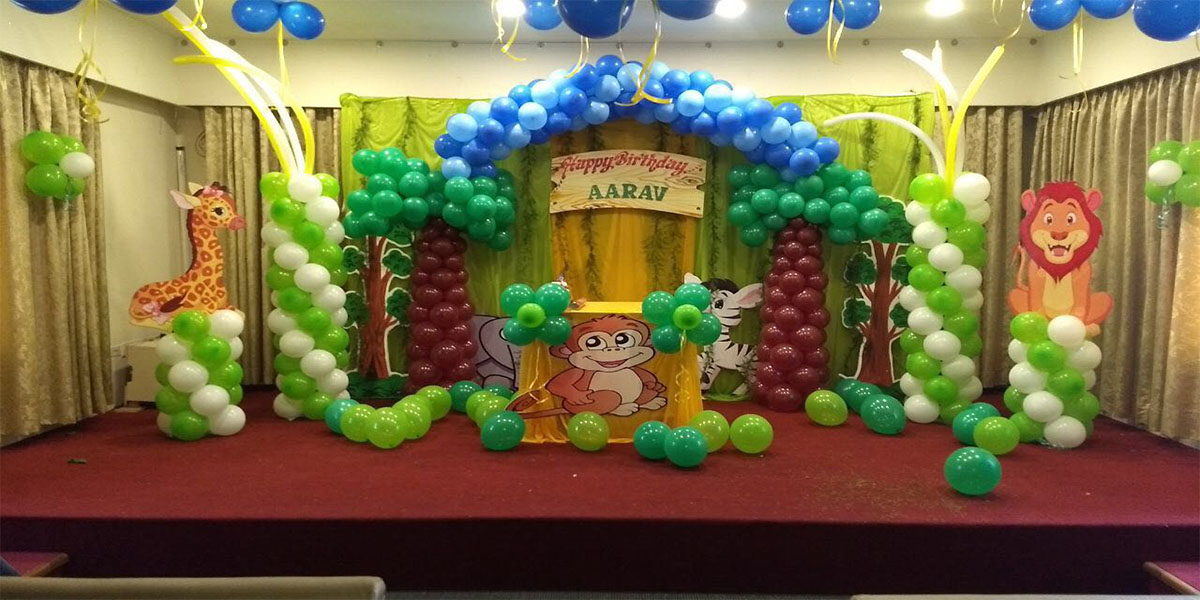 Unique Jungle Theme Decoration, Bangalore - ShowMyHall
