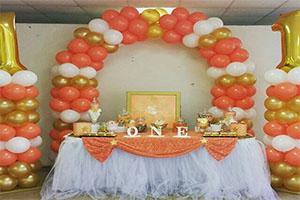 ONE Theme Balloon Decoration -