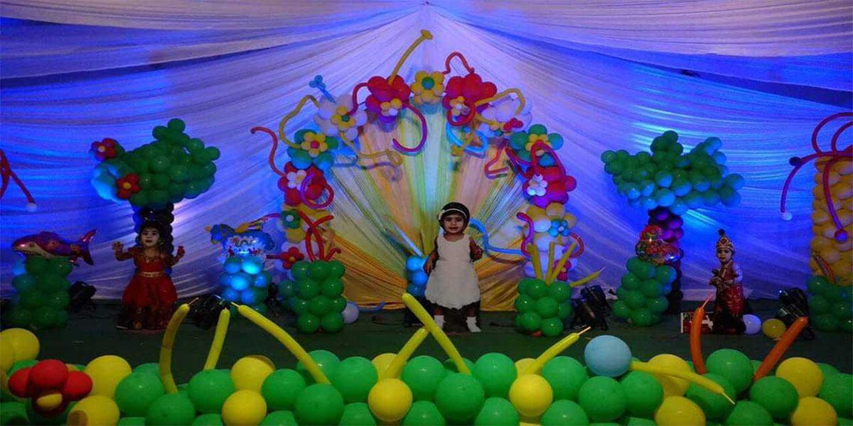 Air Balloons Designer Theme Decoration -
