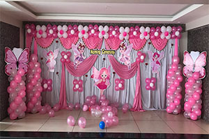 Hybrid Baby Fairy Naming Ceremony Theme Decoration -