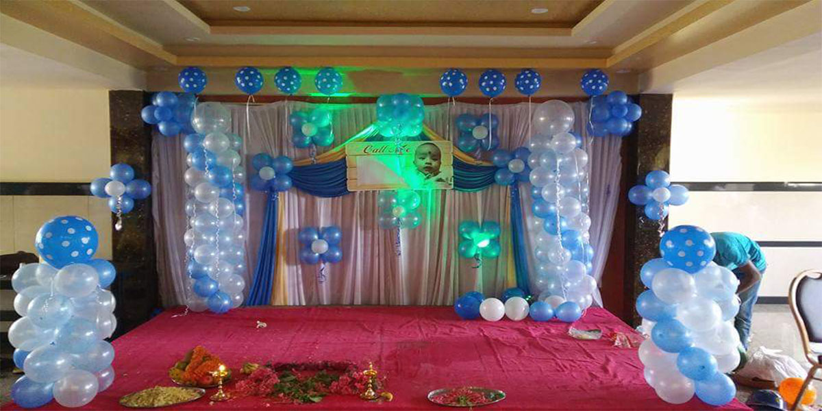 Designer Drape Theme Decoration -