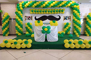 Little Man Naming Ceremony Theme Decoration -