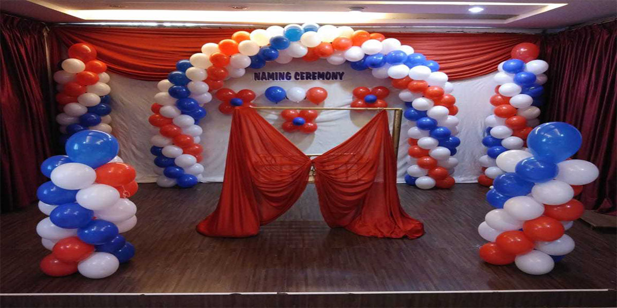Simple Balloon Decoration Theme Decoration -