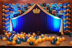 Paper Fan Crown Theme Decoration -