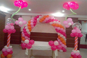 Basic Designer Naming Ceremony Theme Decoration -