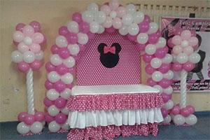 Minnie Naming Ceremony Theme Decoration -