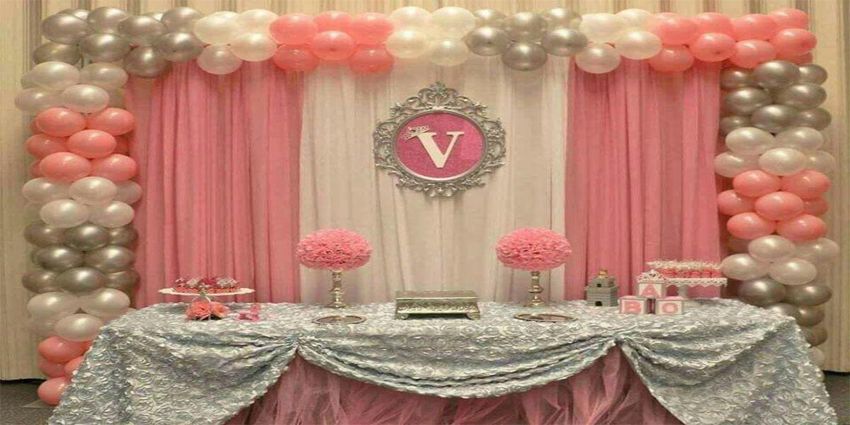 Basic Screen Naming Ceremony Theme Decoration -