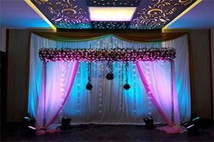 Rose Running Naming Ceremony Theme Decoration -