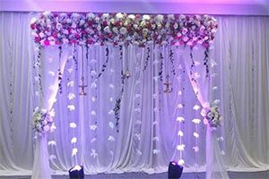 Gerbera Running Naming Ceremony Theme Decoration -