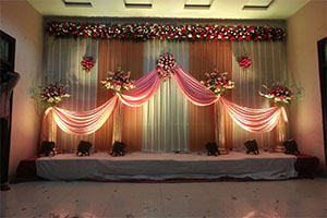 Flower Naming Ceremony Theme Decoration -