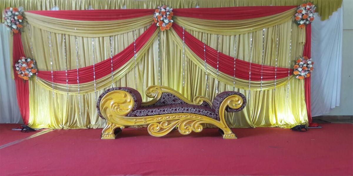 Simple Engagement Decoration -