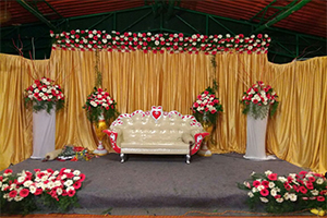 Elegant Engagement Decoration -