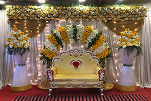 Attractive Engagement Decoration -
