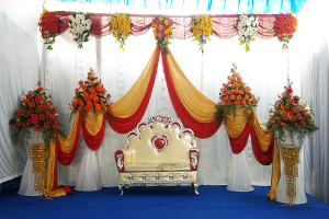 Dignified Engagement Decoration -