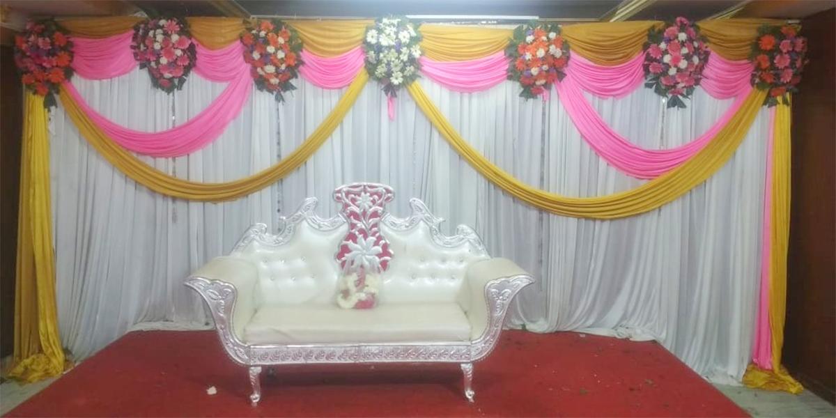 Dazzling Engagement Decoration -