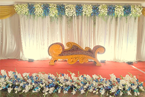 Flower Engagement Decoration -