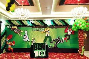 Ben10 Theme Decoration -