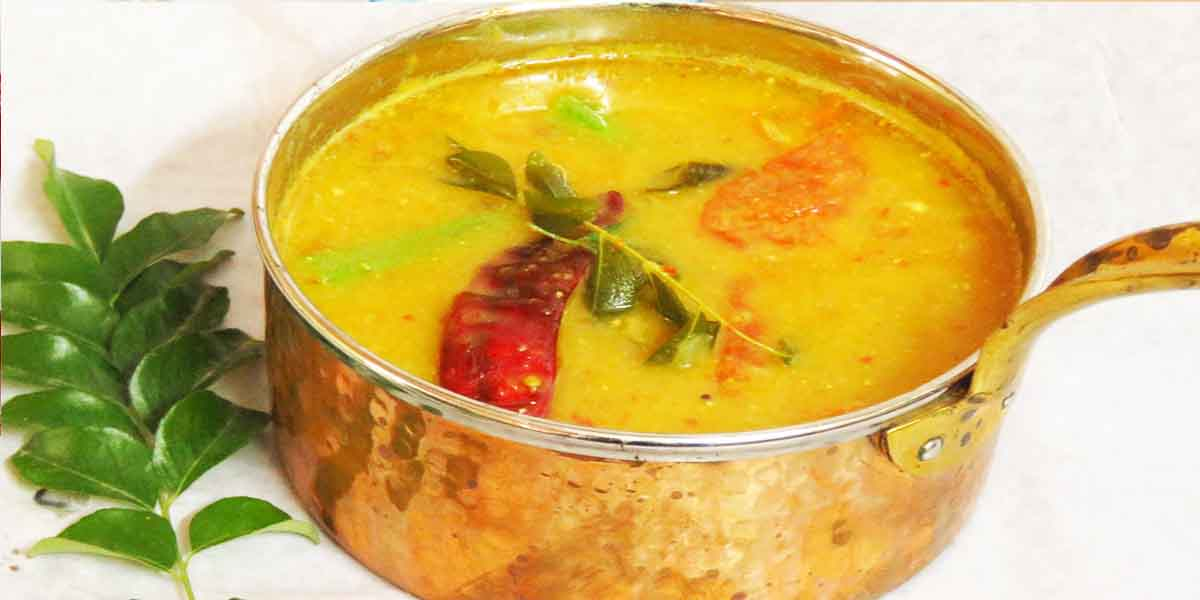 South Indian Menu - Rasam
