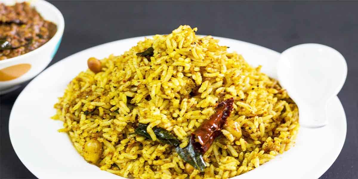 South Indian Menu - Puliyogre