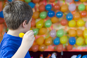 Darts and Balloons -