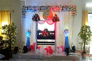Attractive Naming Ceremony Decoration -