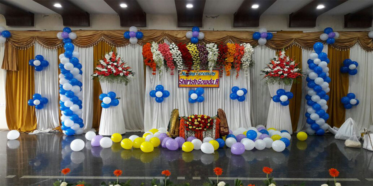 Glorious Naming Ceremony Decoration -