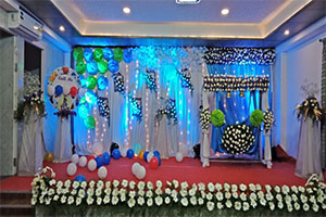 Splendid Naming Ceremony Decoration -