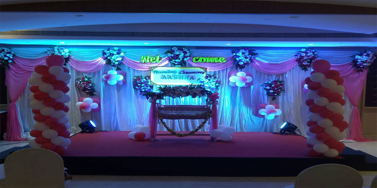 Limited Naming Ceremony Decoration -