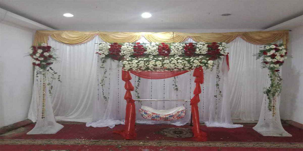 Paramount Naming Ceremony Decoration -