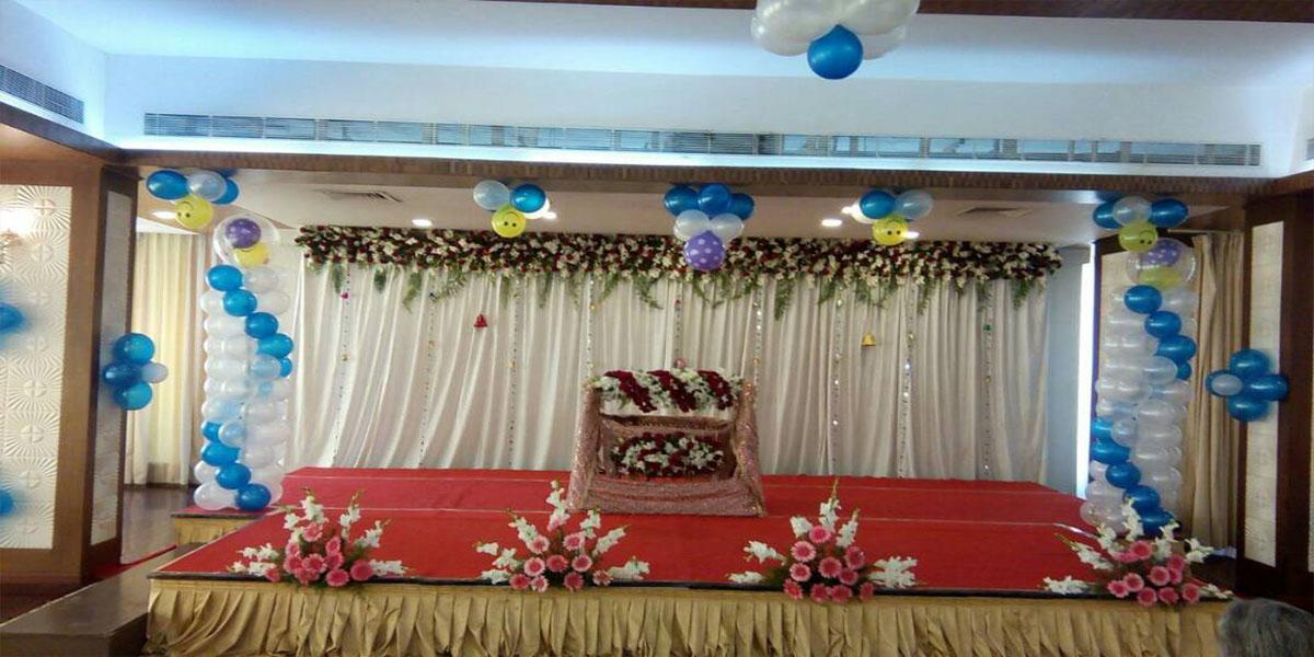 Blossom Naming Ceremony Decoration -