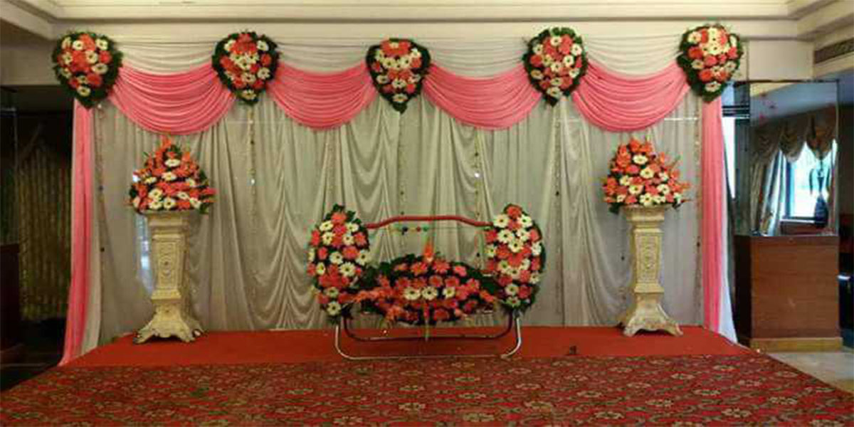 Dazzling Naming Ceremony Decoration -