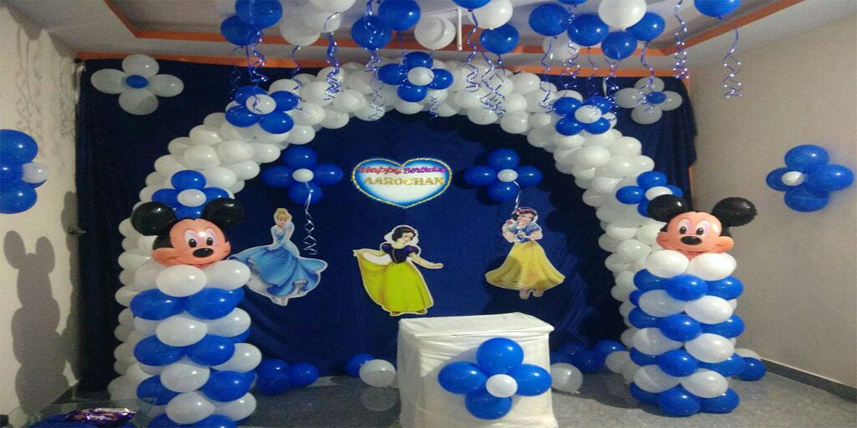 Blue Barbie Theme Decoration -