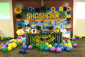 Lord Krishna Birthday Theme Decoration -