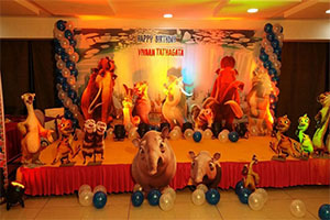 Ice age Theme Birthday Decoration -
